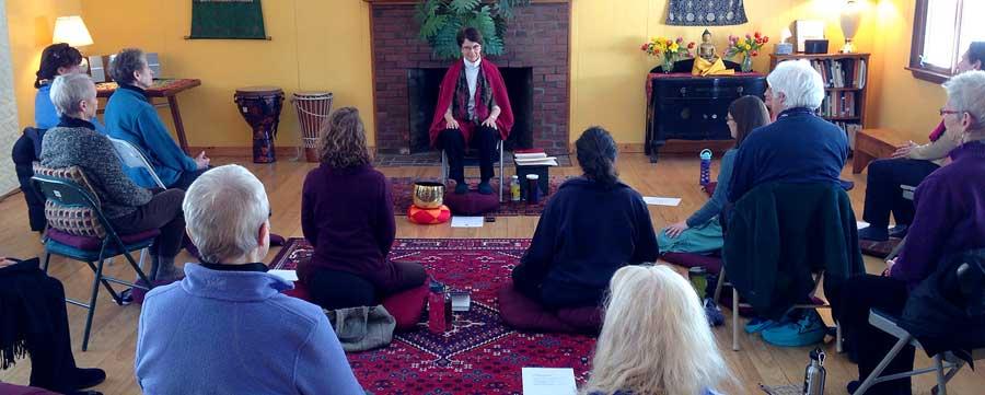 Vermont Insight Meditation Center retreat