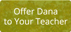 Offer dana to your teacher